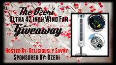 Ozeri Ultra 42 inch Wind Fan Giveaway 12/27 ~ Tales From A Southern Mom