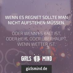 Am besten ihr bleibt einfach im Bett.  Mehr Sprüche auf: www.girlsmind.de