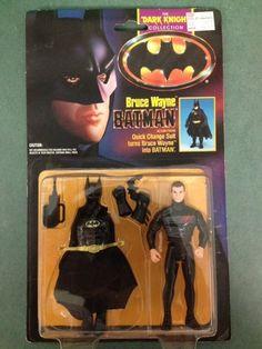 Vtg Kenner Bruce Wayne Dark Knight Batman Super Powers DC 1990 Figure Toy Ra | eBay