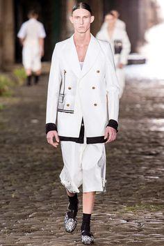 Alexander McQueen (Spring - Summer 2014, menswear, catwalk) - London Fashion Week (Catwalks & Presentations) - Spring - Summer 2014 (men) - Spring - Summer 2014 - COLLECTIONS - ALL ABOUT FASHION