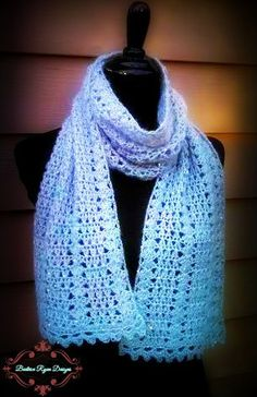 Angelic Winter Scarf | AllFreeCrochet.com