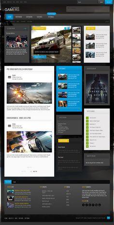 Shape5 - Gamers - September 2013 Joomla Club Template