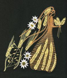 Roční období - léto(20 cm x  23 cm)