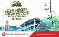 Trade Show, Fair Trade, Canton Fair China, Import From China, Natural Salt, Himalayan Salt, Guangzhou, International Brands