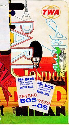TWA Ticket Jacket