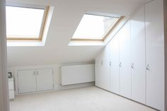 Loft conversions are fantastic spaces for bedrooms but also for extra storage. Turn your unused space into a beautiful loft room with Simply Loft.