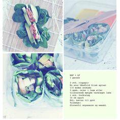 Lækker madpakke med grønt og skaldyr af Rie Randrup