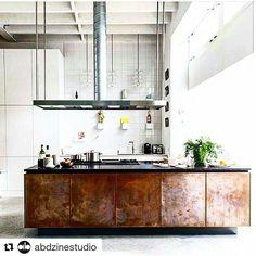Black Kitchen Island, Recycled House, Interior Architecture, Interior Design, Kitchen Stories, Modern House Plans, Instagram Repost, Kitchen Interior, Home Kitchens