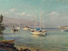 Joseph Paquet | Rogers Gardens Show Paintings