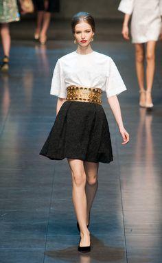Dolce   Gabbana - FW 2013 2014 Settimana Della Moda Di Milano c3495427d47