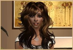 """Rainia""  #adriannasimmie #sugahsplace #downloads #modelingagency #TS2 #model #sims2"