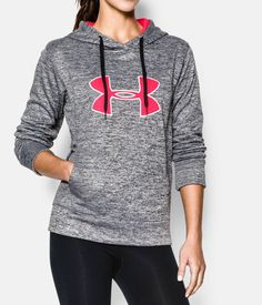 Shop Under Armour for Women s UA Big Logo Applique Twist Hoodie in our  Womens Tops department bc23f8ea06