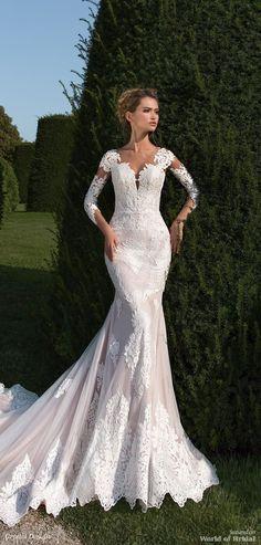 Crystal Design 2018 Wedding Dress Dresses Mermaid Silhouette Chantilly
