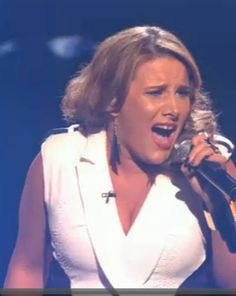 Sam Bailey is awesome.  Don't forget to vote.