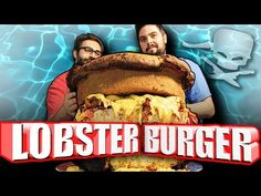 Lobster Burger - Epic Meal Time - http://www.bestrecipetube.com/lobster-burger-epic-meal-time/