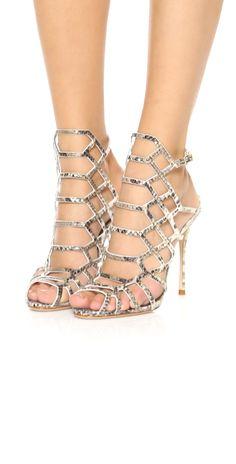 Schutz Juliana Caged Sandals | SHOPBOP