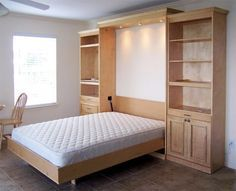 Custom Wall Beds, Quality Wallbeds, Murphy Beds, Design-Your-Own Wall Bed Murphy Bed Ikea, Murphy Bed Plans, Murphy Bed Mechanism, Camas Murphy, Hideaway Bed, Space Saving Beds, Modern Murphy Beds, Folding Beds, Ikea Bed