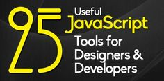 Fresh JavaScript resources which are very useful for both designers and developers. JavaScript is an extremely useful scripting language for enhancing user Computer Coding, Computer Programming, Design Development, Software Development, Html Tutorial, Big Data Technologies, Artificial Intelligence Technology, Web Technology, Web Development