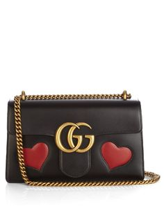 cf240ac7071 Gucci GG Marmont leather shoulder bag Gg Marmont