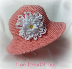 Pixie's Chemo Sun Hat... Free Pattern!