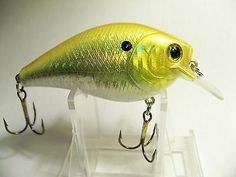 BassBass(1)Custom Painted 2.5 RC Body Style Crankbait,fishing lures,crankbaits HCGP 3