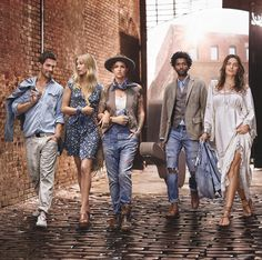 God Save the Queen and all: Ralph Lauren Denim & Supply Spring/Summer 2016 Campaign