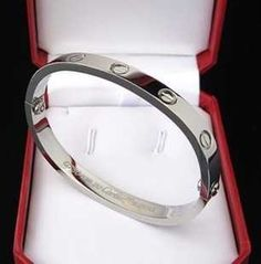 Cartier Love Bracelet White Gold  $ 45.99