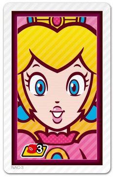 Photos with Mario AR Card - Peach
