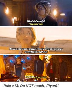 Thirteenth Doctor in season 11 of Doctor Who Doctor Who Funny, Doctor Humor, Doctor Who Quotes, 13th Doctor, Eleventh Doctor, Doctor 13, Bbc Doctor Who, Space Man, Doctor Who Companions