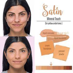 Younique Satin Liquid Powder Cream Foundation
