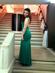 #greendress