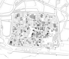 Floor plan of an upper class home at Amarna- Ancient Egypt