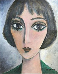 Abstract Portrait Painting, Abstract Face Art, Portrait Art, Painting & Drawing, Whimsical Art, Drawing People, Painting Inspiration, Female Art, Art Images