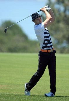 Justin Timberlake is a singer and dancer and works for Callaway Golf in some capacity these days