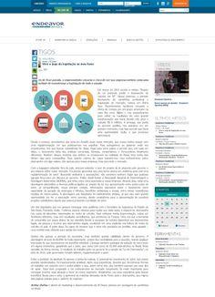 Título: Virei o jogo da legislação ao meu favor. Veículo: portal Endeavor Brasil. Data: 03/06/2014. Cliente: JR Diesel.