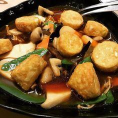 #food #foodporn #restaurant #yummy #Toronto #Montrealblogger #ontario #canada #mushroom #japanesetofu December 24 2017 at 06:14PM