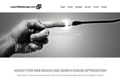 Loyal-Webdesign.com on Behance