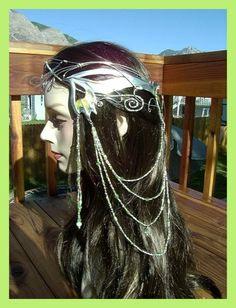 @: Elven Circlet Butterfly Coronation