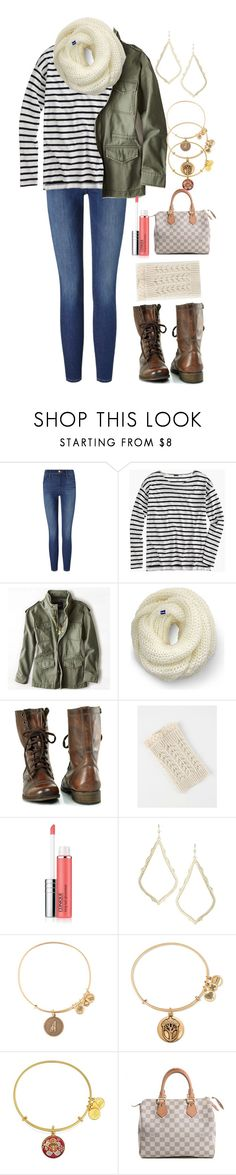 """328 sets. Weird..."" by classically-kendall ❤ liked on Polyvore featuring Frame Denim, J.Crew, American Eagle Outfitters, Keds, Steve Madden, Clinique, Kendra Scott, Alex and Ani and Louis Vuitton"