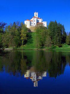 CROATIA: Trakošćan Castle, Croatia