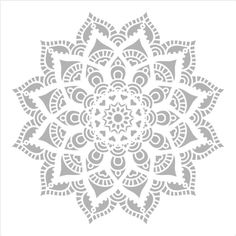 Stencils for spray painting Pintyplus Spray Paint Stencils, Stencil Diy, Stencil Painting, Spray Painting, Textiles, Paint Drying, Large Flowers, Chalk Paint, Handicraft