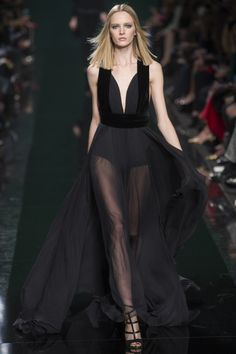 Elie Saab,  Осень-зима 2014/2015, Ready-To-Wear, Париж