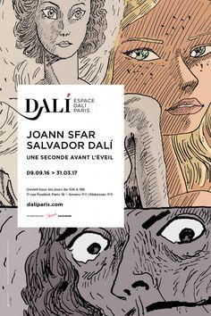 Expo Joann Sfar, Salvador Dalí : une seconde avant l'éveil - Espace Dalí