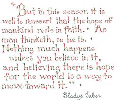gladys taber quotes - Google Search