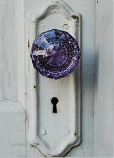 Purple Door nob