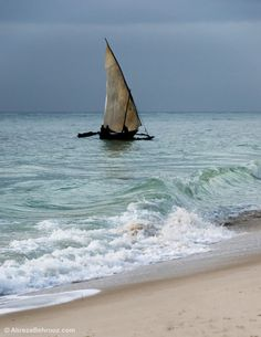 radivs: 'Diani Reef II' by Alireza Behrooz Diani Beach, Beyond The Sea, Sail Boats, Sail Away, Set Sail, Out Of This World, Africa Travel, Lighthouses, Yachts