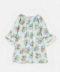 Floral print blouse Shirts   Girl Junior (8-12 years)  |  Tunics  Girl Junior (8-12 years) | LANIDOR.COM - Mobile Shop Online
