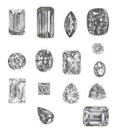 diamants.  gift idea.