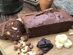 Recept: bananenbrood met noten en pure chocolade