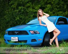 Senior pictures with my Mustang <3